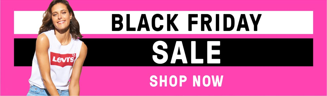 Black Friday Sale. Shop Now.