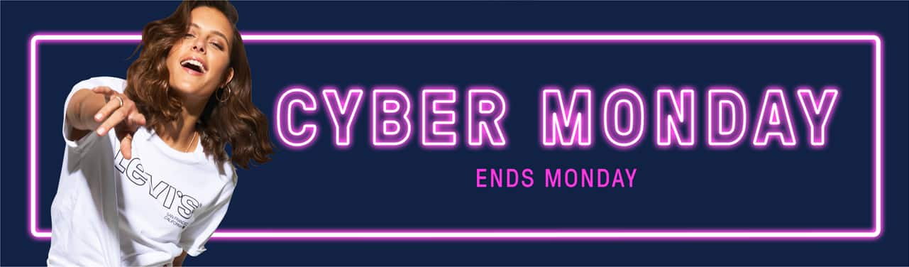 Cyber Monday. Ends Monday.