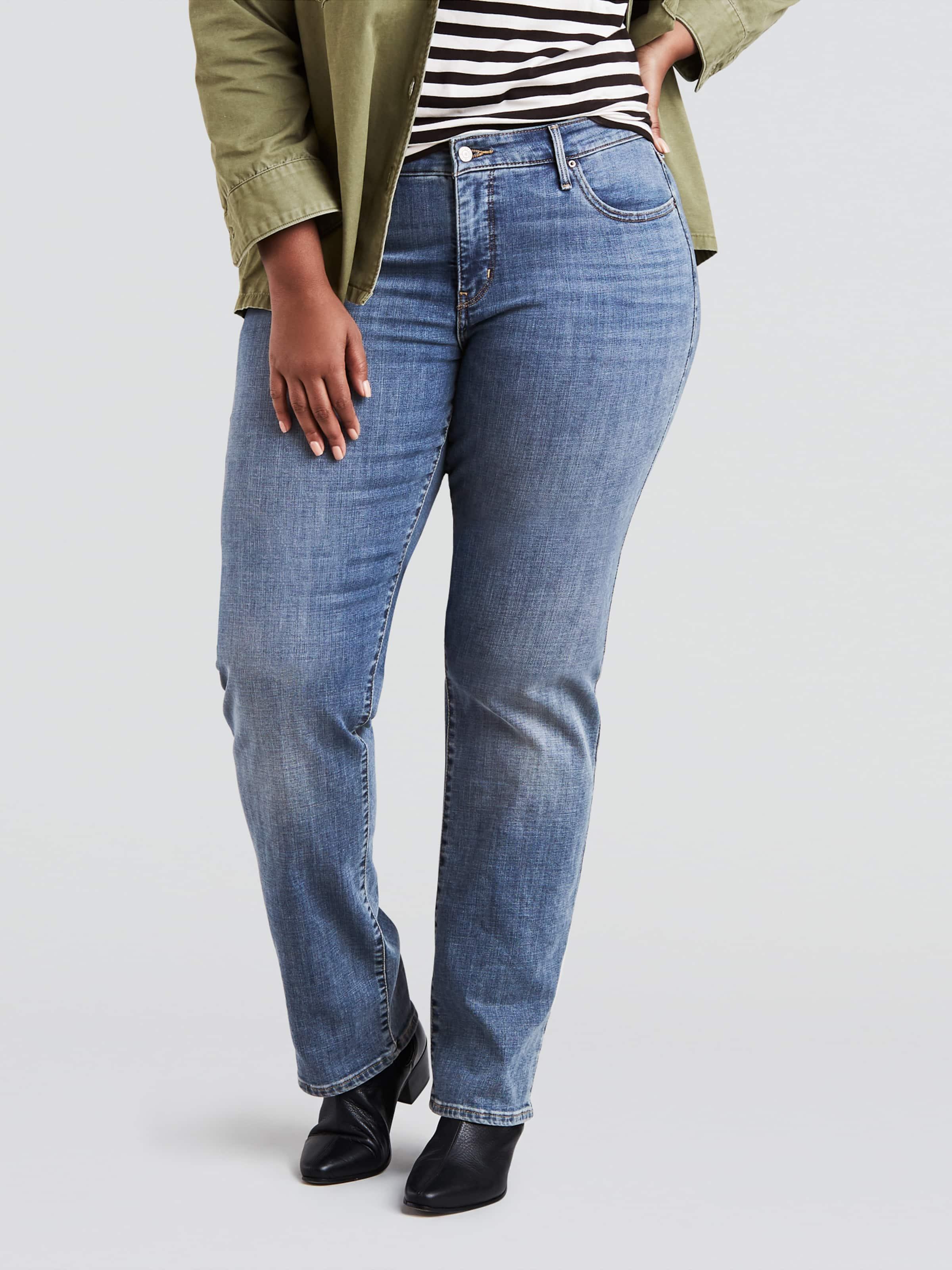 43a2d6c13e3 Image for Levis 311 Plus Straight In Indigo Anomaly from Just Jeans ...