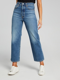 Levis Ribcage Straight Jive Swing