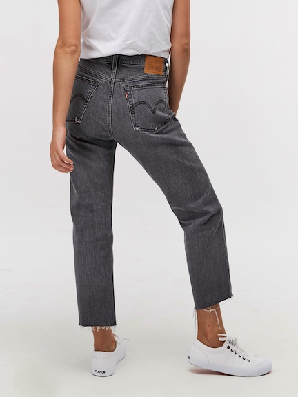 Levis Wedge Straight Cabo Smoke Black