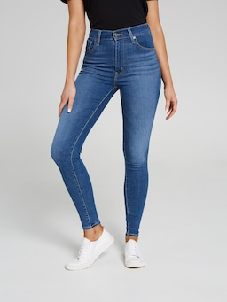 Levis Mile High Super Skinny In Quebec Denim