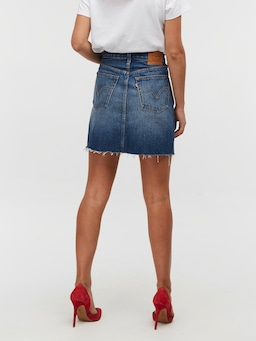 Levis Deconstructed Skirt In Snakehead