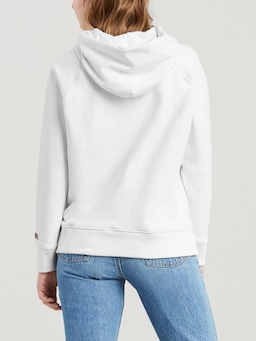 Levis Graphic Hoodie Sport In White