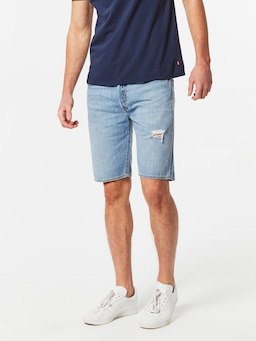 Levis 501 Short In Blue Marshmellow