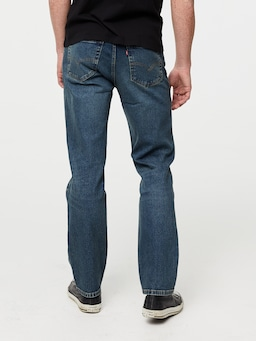 Levis 516 Straight Golden Rod Denim
