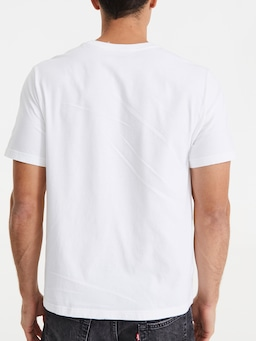 Levis Relax Graphic Boxtab Tee White