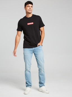 Levis Relax Boxtab Tee Black