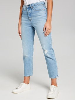 Levi's Wedgie Straight Tango Blue