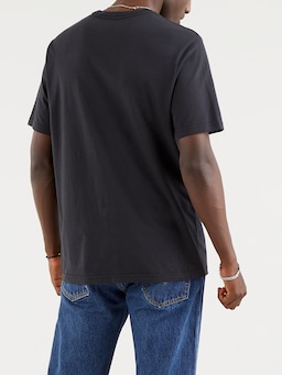 Levis Relax Logo Tee In Caviar