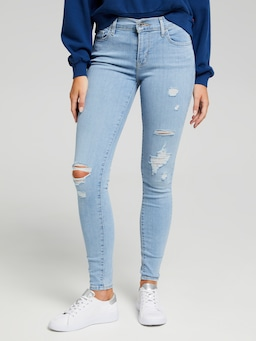 Levi's 710 Super Skinny Jeans In Ontario Fader