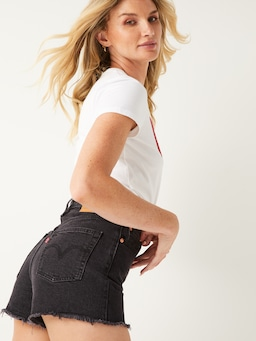 Levi's Ribcage Short Black Lake