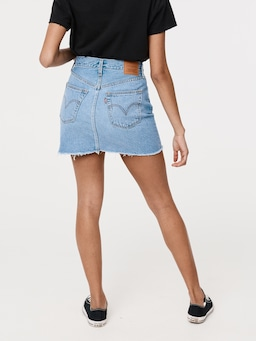 Levi's Ribcage Skirt Bernal Tide Denim