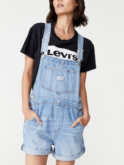 Levis Vintage Shortall In Denim