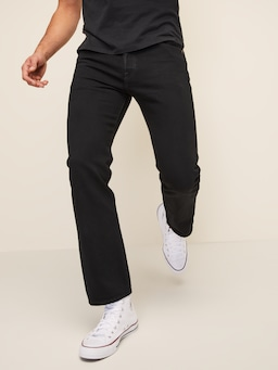 Levi's 501 Original Straight Black Jean