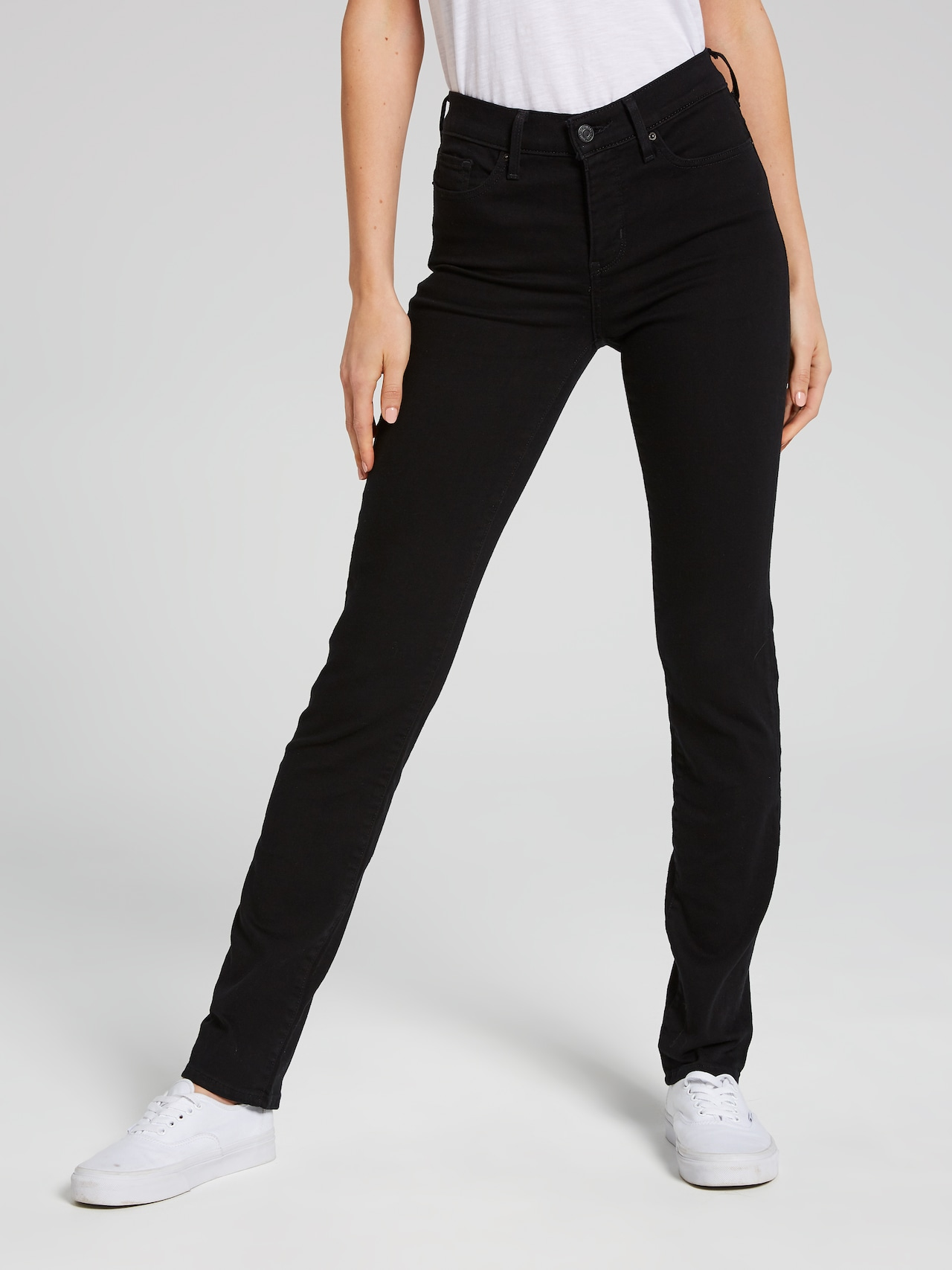 93d22ae1 Levi's 312 Shaping Slim Jean In Black Sheep - Just Jeans Online