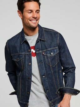 Levi's Trucker Jacket In Conifer