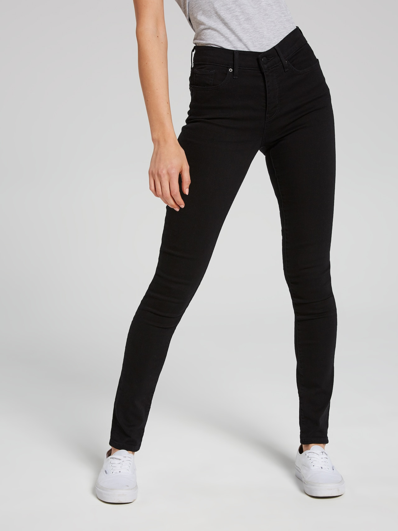e81f6a0c Levi's 311 Shaping Skinny Jean In Black Sheep - Just Jeans Online