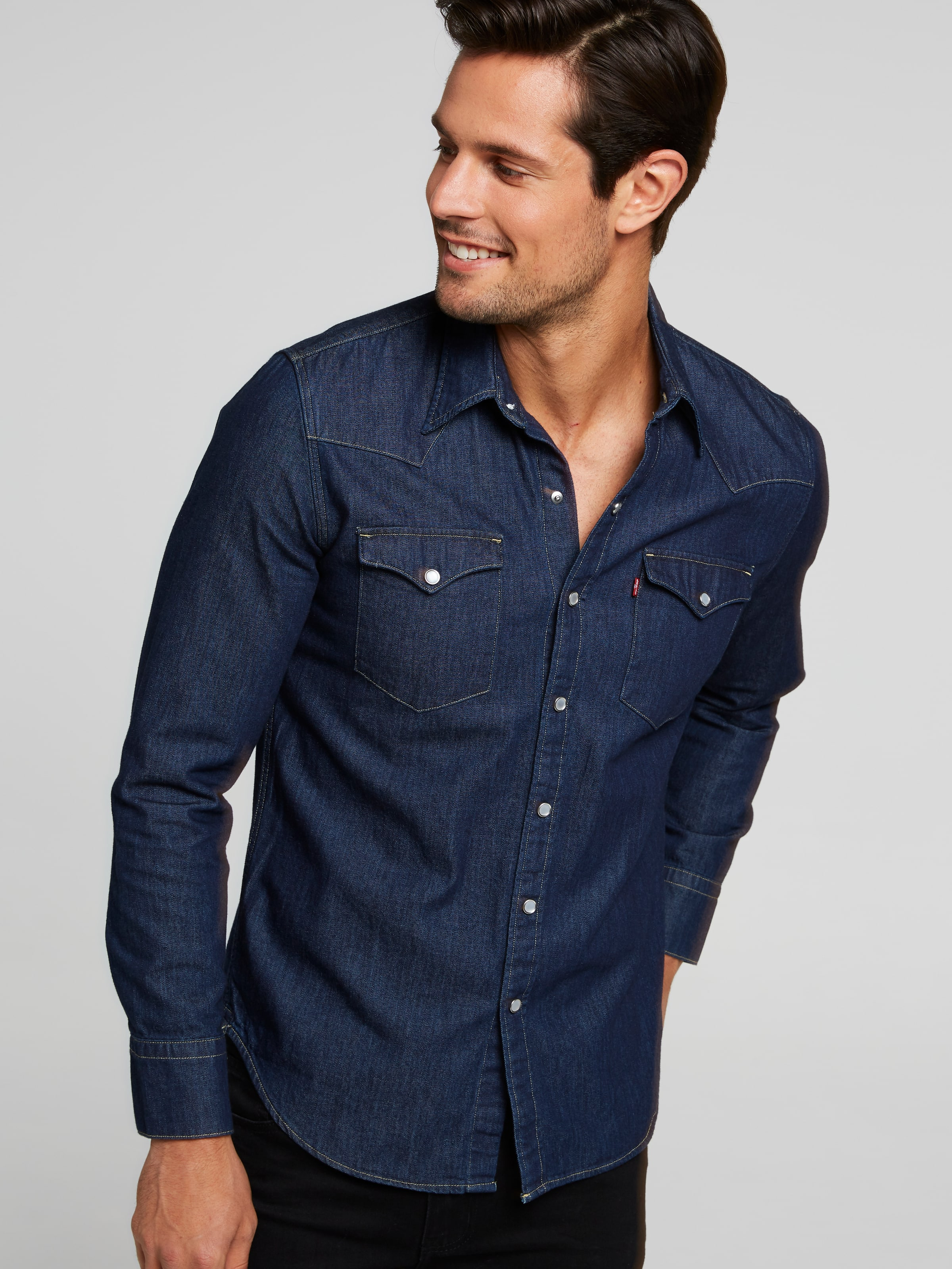 806a7f30e38 Image for Levi Barstow Shirt from Just Jeans ...