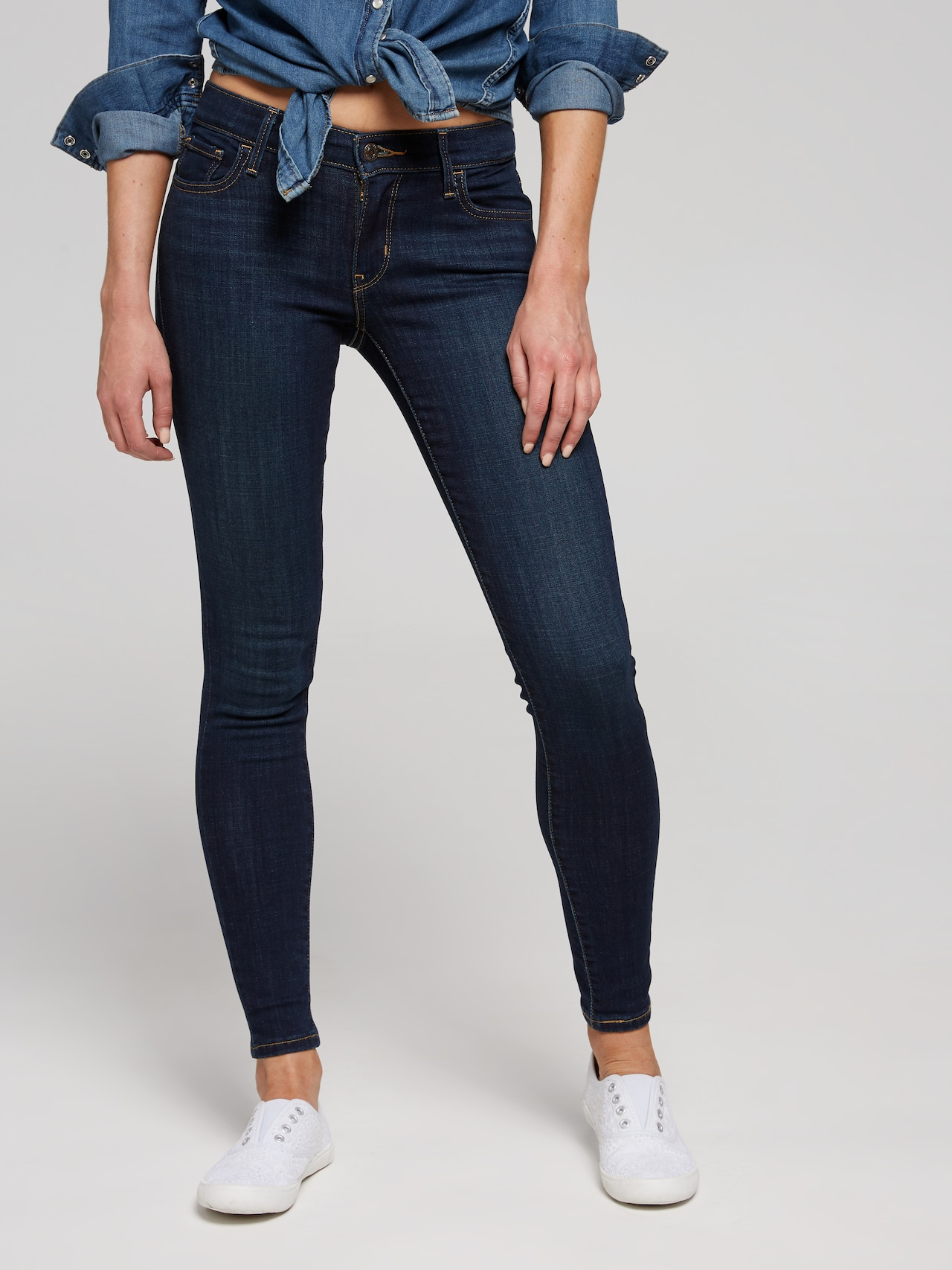 new arrival official store factory outlet Just Jeans LEVI'S 710 SUPER SKINNY JEAN IN EVOLUTION