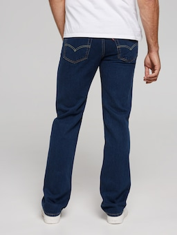 Levi's 516 Straight In Blue Black
