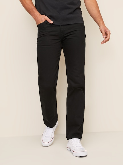 Levi's 516 Straight In Black Rinse