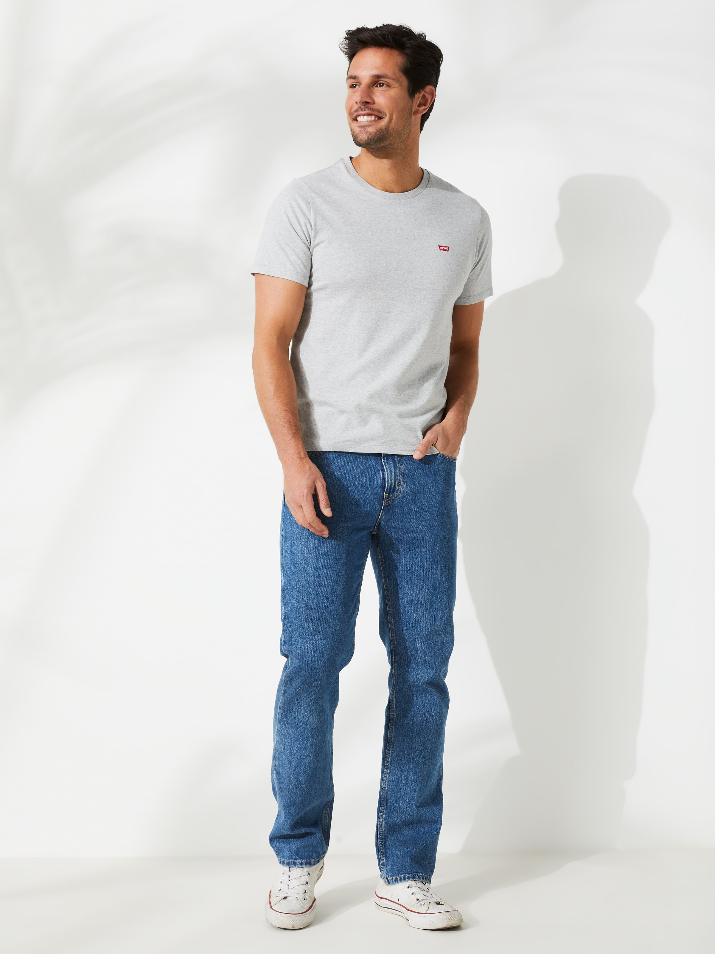 c6b0a4d8968 Image for Levi s 516 Straight In Stonewash 30 from Just Jeans ...