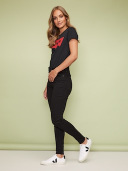 Levi's Mile High Jean In New Moon Black