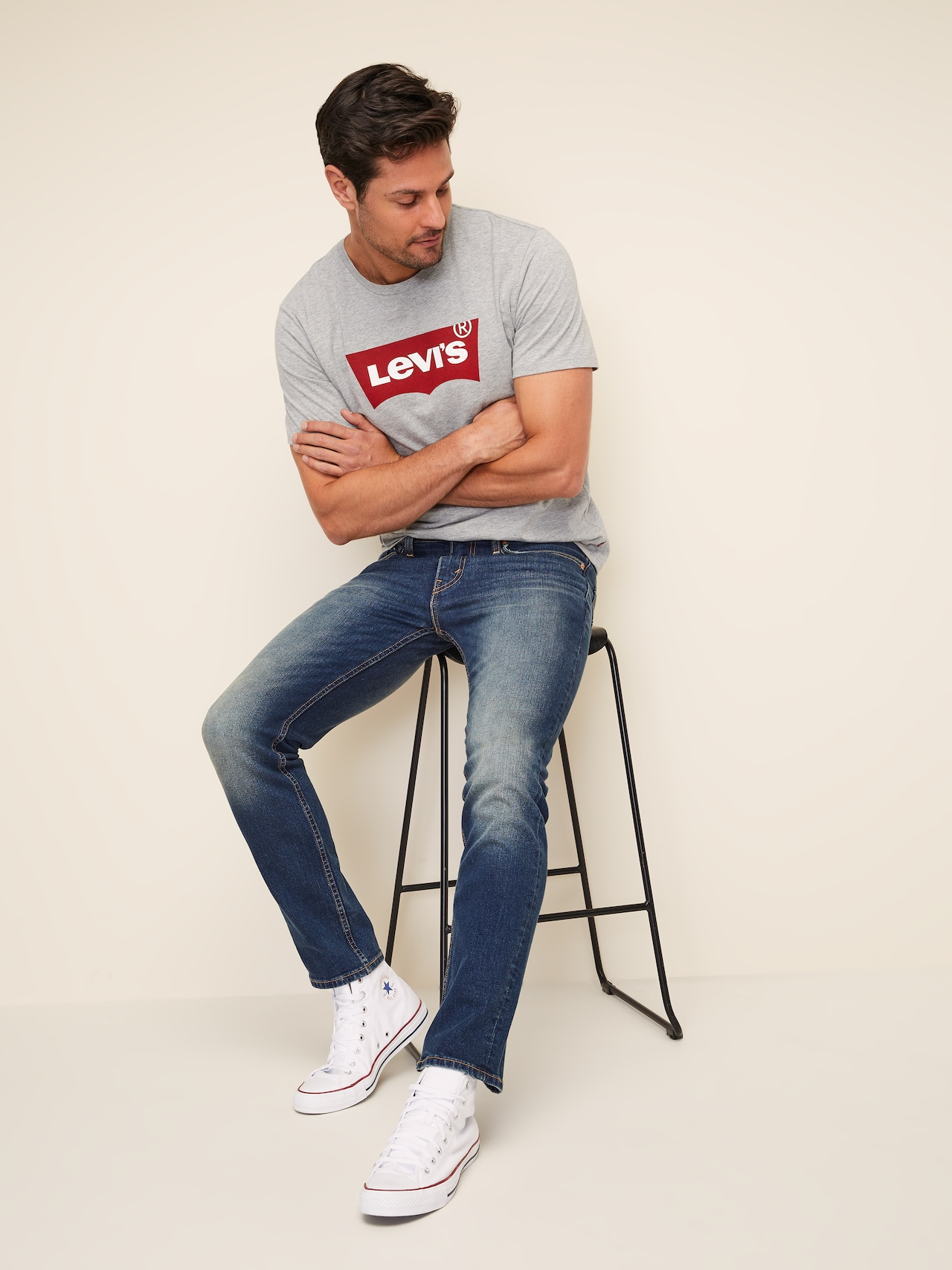 67d0869597b7d1 Levi's 511 Slim Jean In Canyon Dark - Just Jeans Online