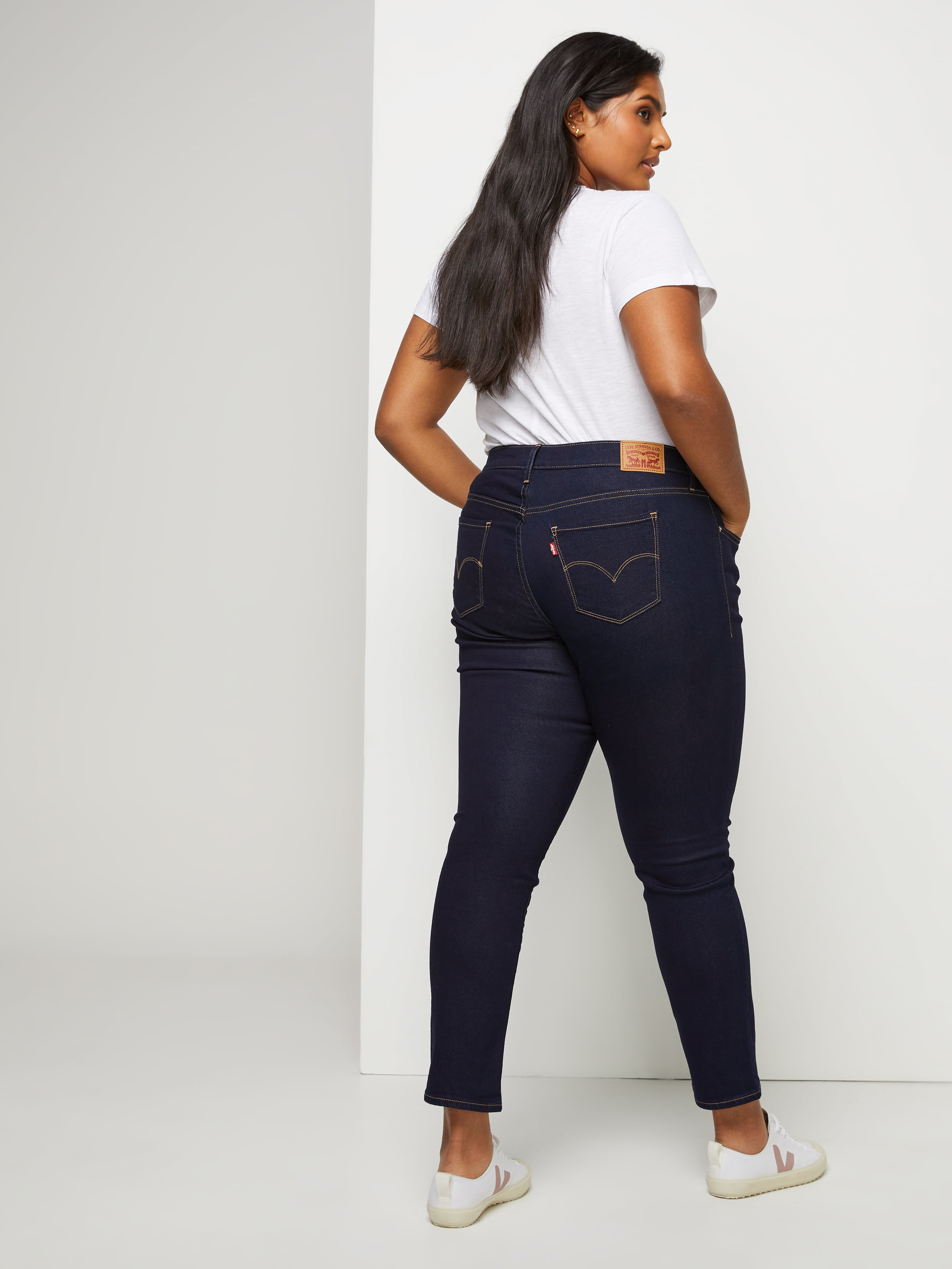 67747312161 Image for Levi s Plus 311 Shaping Skinny Jean In Dark Sky from Just Jeans  ...