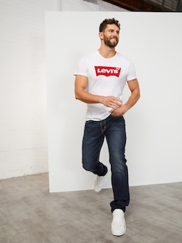 Levi's 502 Taper Jean In Sequoia Blue