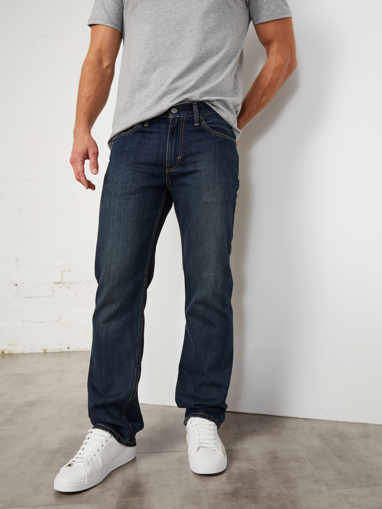 a19cce9b44f Levi's 514 Straight Jean In Corben - Just Jeans Online