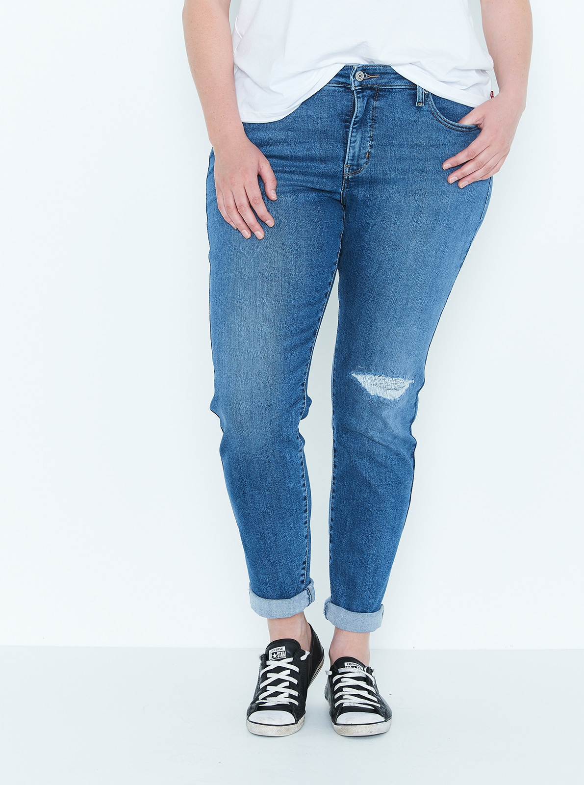 10d586285e5 Levi s Plus 311 Shaping Skinny Jean In September Blue - Just Jeans ...