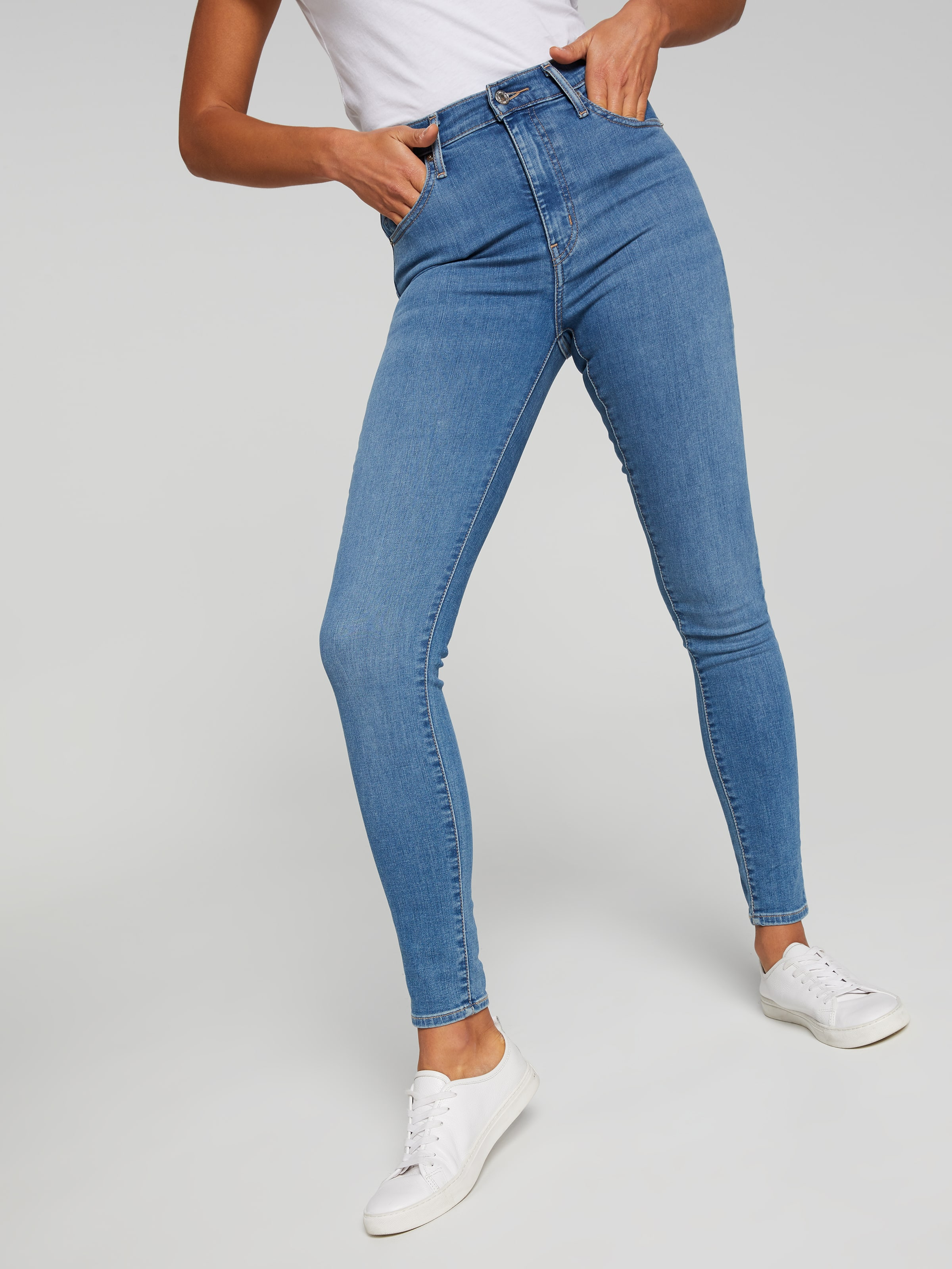 Buy Just Jeans Levi s Mile High Jean In New Moon Black   Australian ... f8f9675103