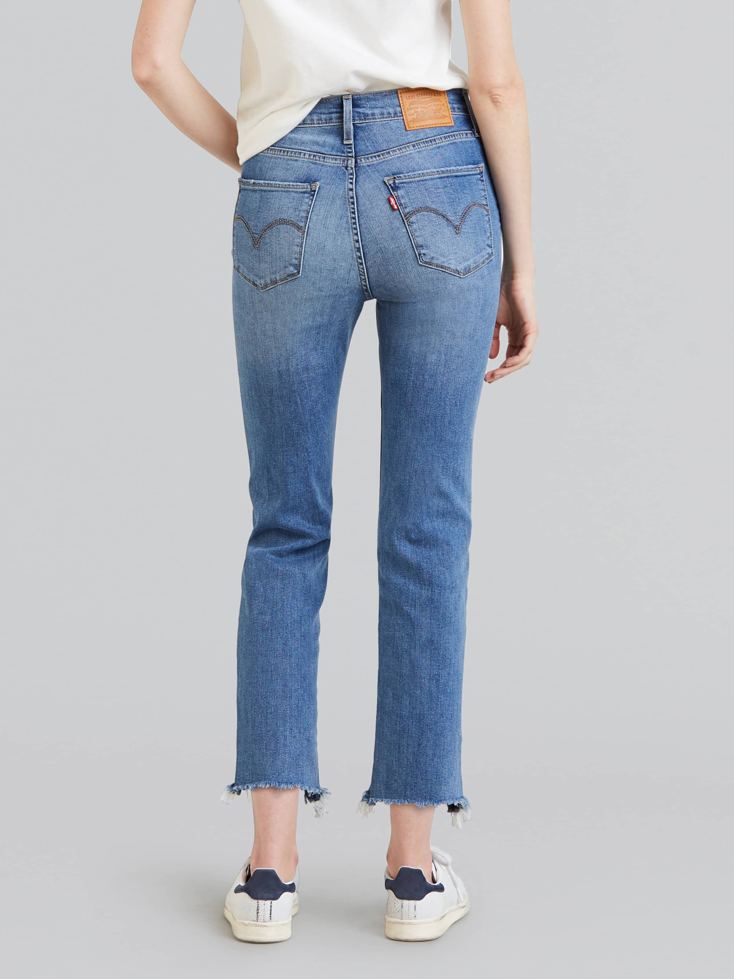8e8b210f ... Image for Levi 724 Hi-Rise Straight Crop Indigo Pixel from Just Jeans  ...