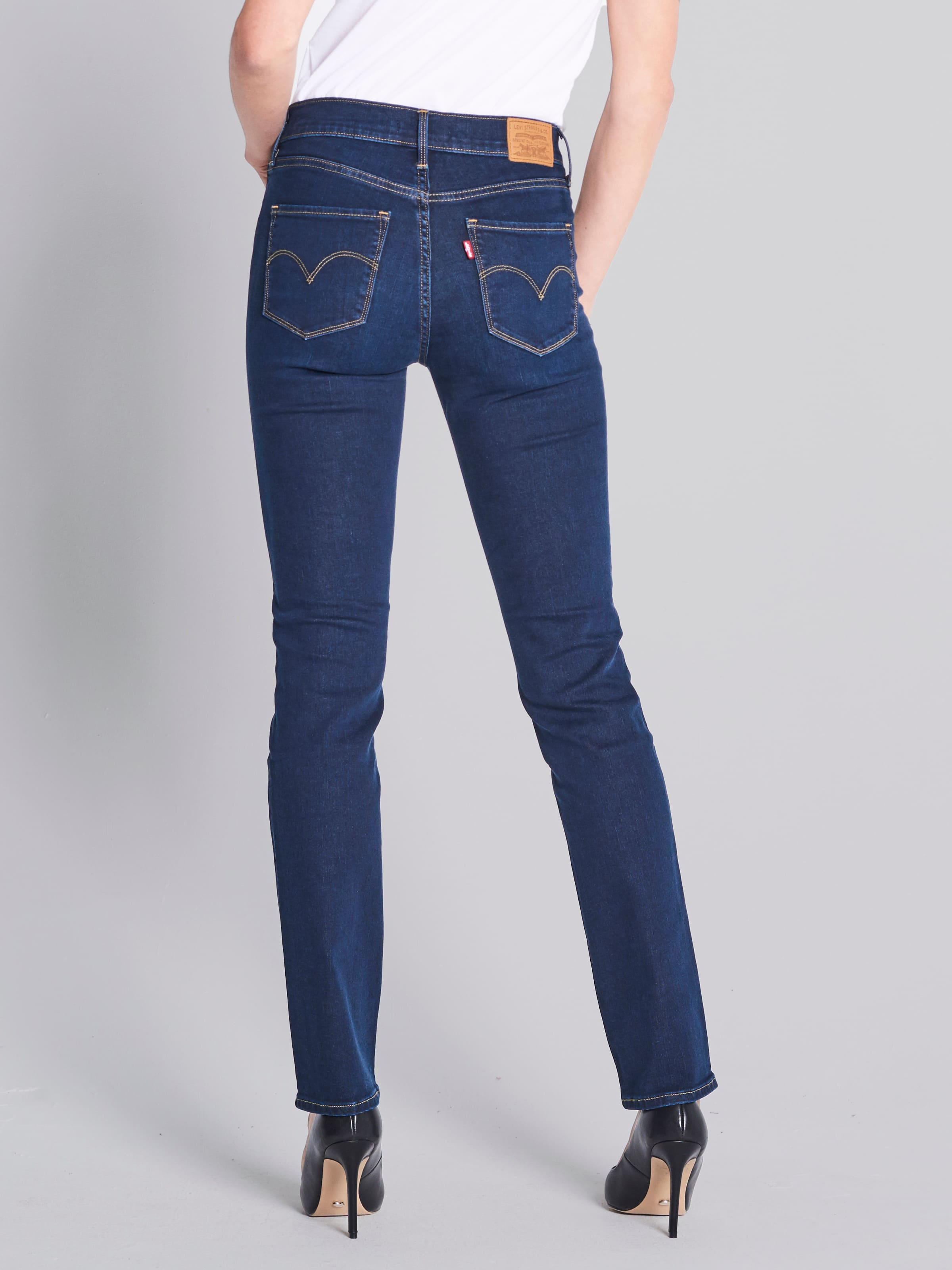 ... Image for Levi s 312 Shaping Slim In Darkside Blue from Just Jeans 50cb72639a