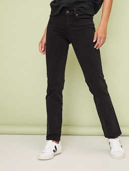Levi's 314 Shaping Straight In Black