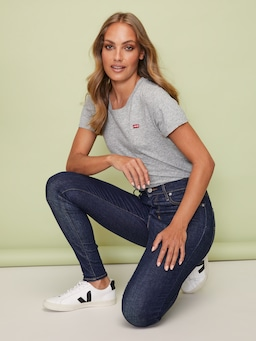 Levi's Mile High Jean In Upgrade Rinse