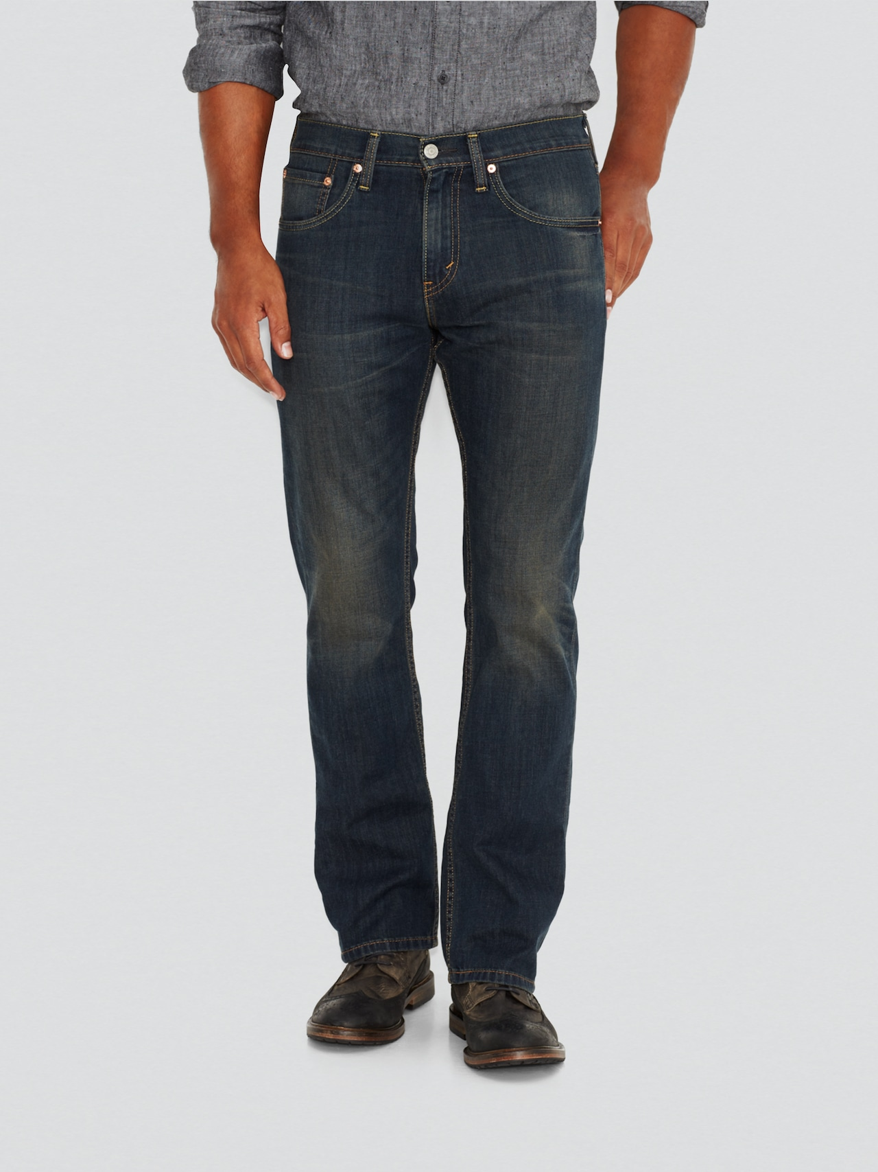 8d37e54b75 Levis 527 Bootcut In Covered Up - Just Jeans Online