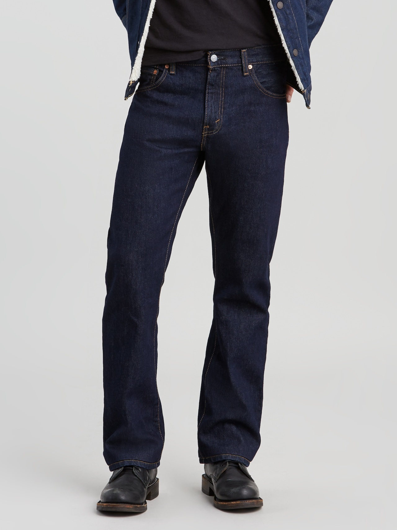 0213b2fb Levi 517 Bootcut Rinse - Just Jeans Online