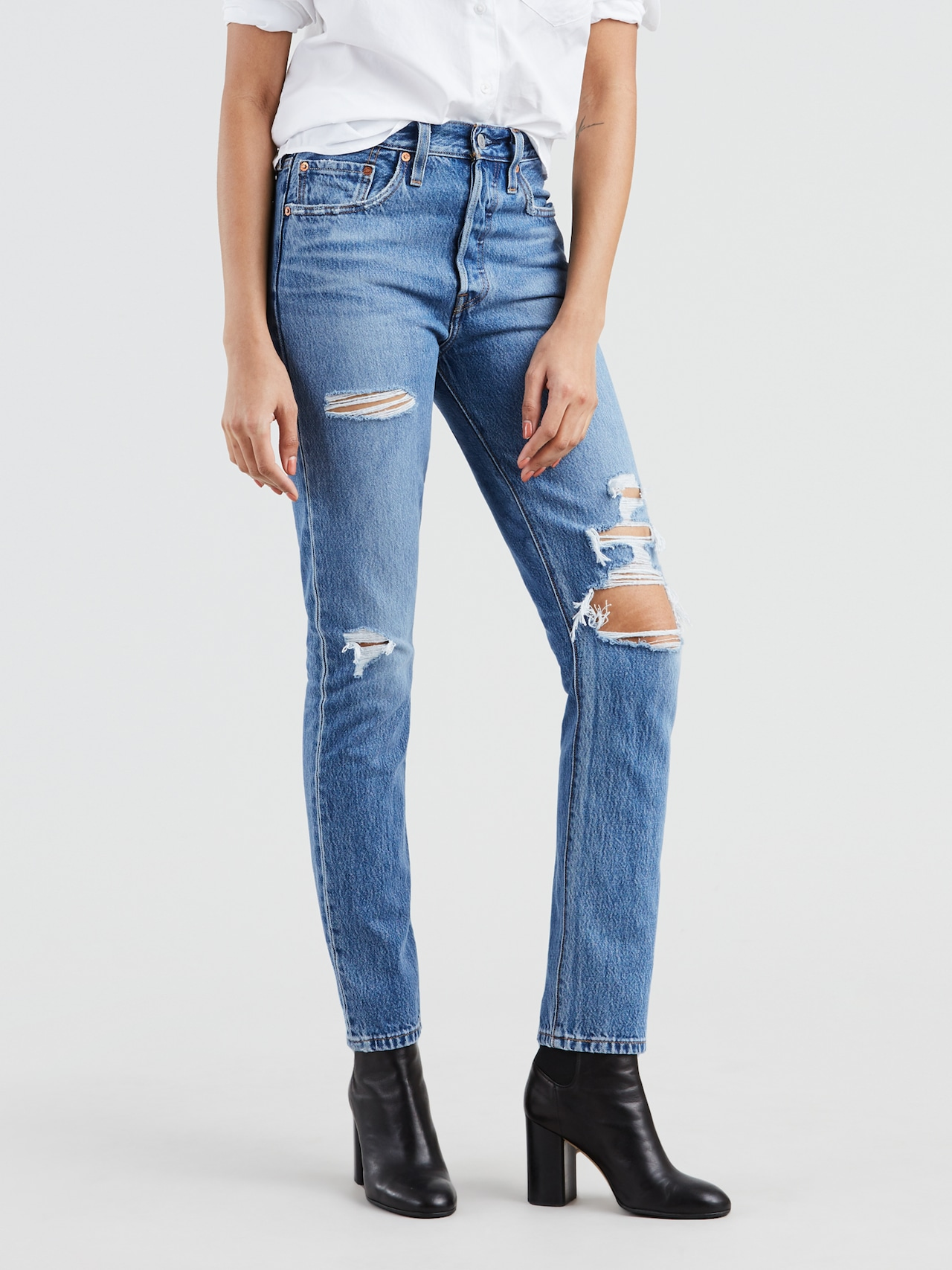 7fe227a4504 Levi 501 Skinny In Nice As Pie - Just Jeans Online
