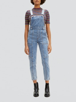 Levis Utility Mom Overall In Pull A Fast One