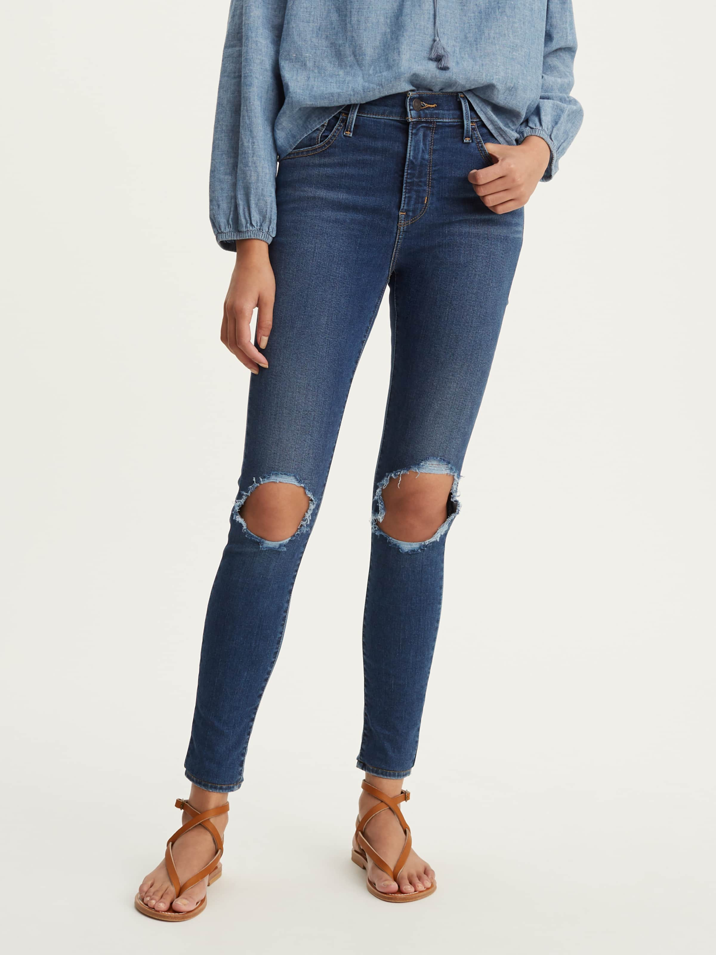 Image of Just Jeans 720 High Rise Super Skinny In Shake That Thang