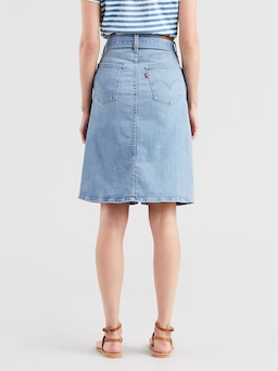 Levis Midi Tie Skirt In Light And Bright