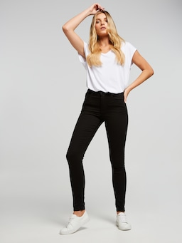 Second Skin Extra High Rise Super Skinny Full Length