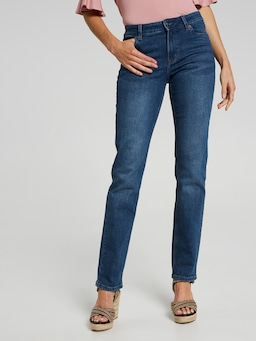 Comfort Stretch Mid Rise Straight Jean