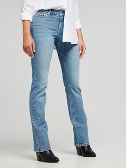 Comfort Stretch Mid Rise Bootcut Petite