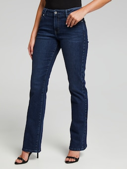 Comfort Stretch Mid Rise Bootcut Petite Length