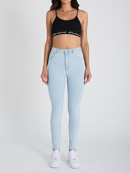 Abrand High Rise Skinny Baltmore Blue