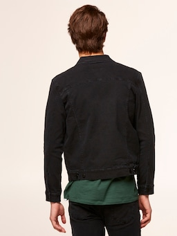 Riders By Lee Black Canvas Jacket